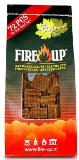 ACCENDIFUOCO ECOLOGICO FIRE UP 72