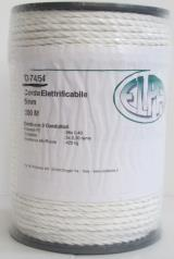 CORDA ELETTRIFICABILE, diametro 5 mm,lunghezza 200 mt